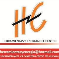 Herramientas y Energia del Centro