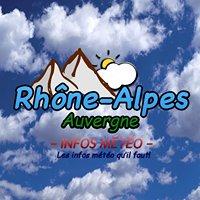 Rhône-Alpes / Auvergne infos météo