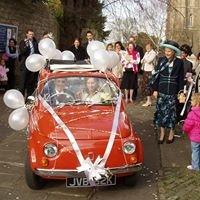 Fiat 500 classic car hire Bristol