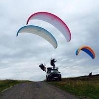 Paragliding Černá hora Krkonoše