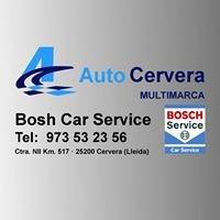 AutoCervera Bosch Car Service