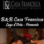 B&B Wellness & Beach Casa Francisca - Lago d'Orta