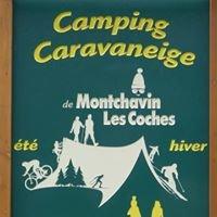 Camping caravaneige Montchavin Savoie