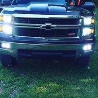 Lighted & Chromed