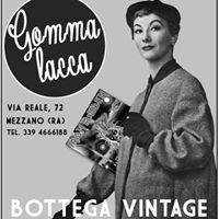 Gommalacca  Bottega Vintage di Francesca Pirazzini