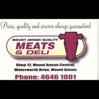 Mount Annan Quality Meats and Deli