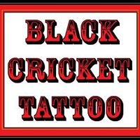 Black Cricket Tattoo