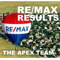 The APEX TEAM at  RE/MAX RESULTS Realty