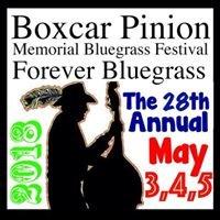 Boxcar Pinion Memorial Bluegrass Festival