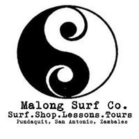 Malong surf shop, surf lessons and island tours