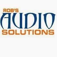 Robs Audio Solutions