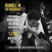 Rumble in the Redwoods Jiu Jitsu Tournament