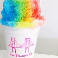 Sam Frances Co. Shaved Ice