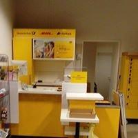Buntstifte Station, Schul und Bürobedarf mit Poststelle und Lotto