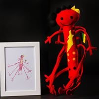 Echoes - your child's drawing becomes a doll.