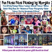 Fun Faces Face Painting by Morgan