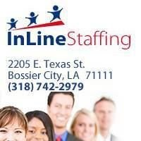 In Line Staffing - Employment Services in Shreveport/Bossier City