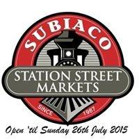 Subiaco Station Street Markets