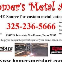 Custom Rustic Metal Ranch Signs and Art