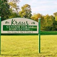 Kraus Custom Forage Harvesting, LLP