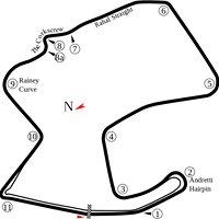 Laguna Seca Mazda Raceway- Moto GP