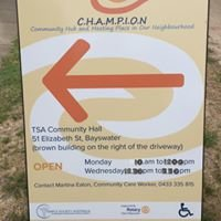 Champion- Community Hub and Meeting Place in our Neighbourhood