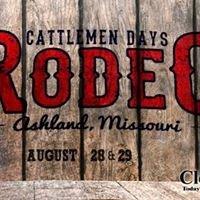 Cattlemen Day's Rodeo Ashland, MO