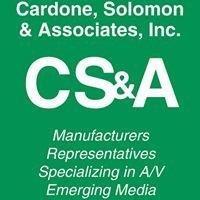 CS&A- Cardone, Solomon & Associates