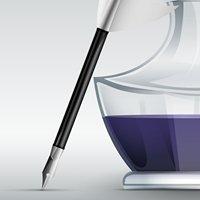Schreibbüro Tintenfaß