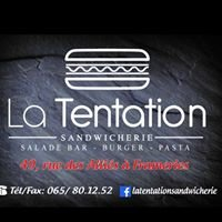 La Tentation Sandwicherie Frameries