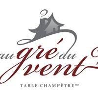Au Gre du Vent - Table champetre Magog