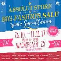 Absolut Store - The Original Fashion Sale