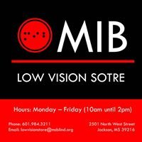 MIB Low Vision Store
