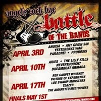 Battle of the Bands at Angels Rock Bar