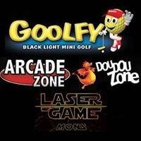 Goolfy et Laser Game Mons