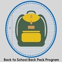 Back to School Back Pack Program