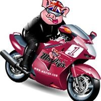 Mr Pig's Motorcycles