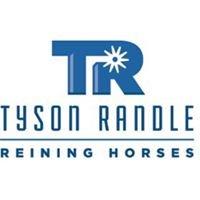 Tyson Randle Reining Horses