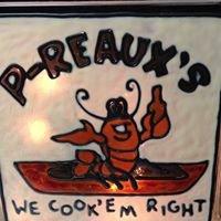 P-Reaux's Cajun Mudbugs & Shrimp - The Hut on Broadway