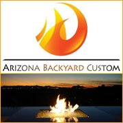 Arizona Backyard Custom: Fire Pit Tables and Custom Fire Features