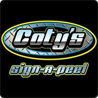 Coty's Sign a peel