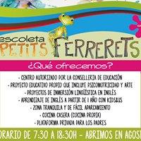 Escoleta Petits Ferrerets