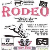 Heard County Cattlemen's Association Rodeo