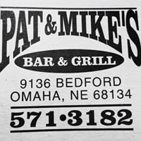Pat and Mike's bar and grill