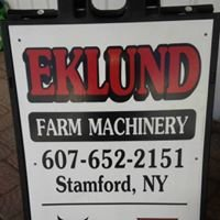 Eklund Family Farm Machinery