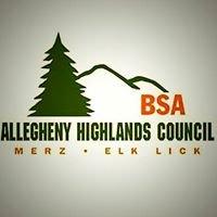 Allegheny Highlands Council, BSA