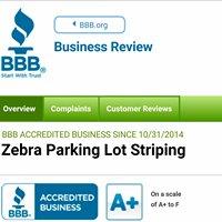 Zebra Parking Lot Striping & Restorations