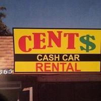 Cent$ Cash Rental Cars