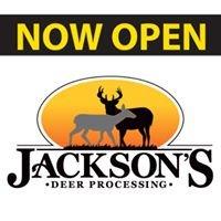 Jackson's Deer Processing