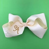 Personalized Bows by Summer Kids